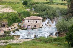 The Most Beautiful Places of the World - Terme di Saturnia, Tuscany, Italy