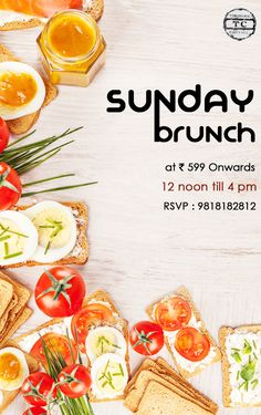 A #weekend without indulgences is such a waste; indulge your senses with our #SundayBrunch. Know more by calling us at 9818182812. #SuperSunday #TCSaket #TurquoiseCottage #Brunch #Food #Foodie #Foodporn
