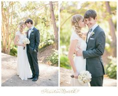 romantic, vintage, lace, bow ties SWOON- photo by Kristen Booth {Eren and Ahna} San Diego Outdoor Wedding Photographer