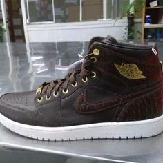 "84b35dea7c3d A ""CROC-SKIN"" VERSION OF THE AIR JORDAN 1 PINNACLE EXISTS The Air Jordan 1  ""Pinnacle"" hasn t reached its pinnacle just yet. Today we get a look at  this "" ..."
