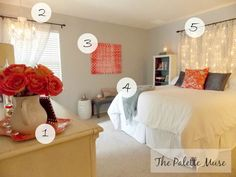 Master Bedroom Makeover on a Budget - DIY projects and shopping secrets