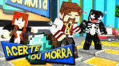 Minecraft: ACERTE OU MORRA - FLECHADA NO JOELHO!! (c/ VenomExtreme e Miss)