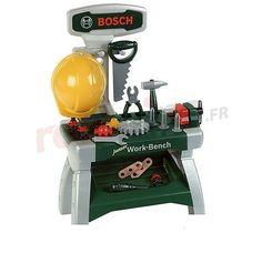 Jeu d'imitation - Etabli Junior Bosch http://www.rotopino.fr/jeu-d-imitation-etabli-junior-bosch,44655 #jouet #jeu #enfant #rotopino