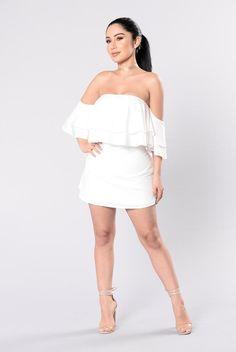 1deaeeb000 Killer Queen Dress - White
