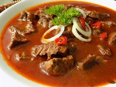 Czech Recipes, Ethnic Recipes, Thai Red Curry, Chili, Soup, Cooking, Breakfast, Health, Red Peppers