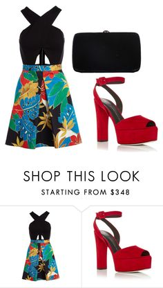 """""""Untitled #77"""" by myriamsarah on Polyvore featuring Alice + Olivia, Giuseppe Zanotti and Sergio Rossi"""