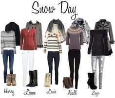 Snow time outfits