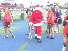 Some lost footage from LACROSSEWEAR's video vault of the Jingle Brawl Lacrosse tournament last December 2010. Santa had made some guest appearances that we found and thought you might enjoy them like we did. Santa's got some moves boys and girls....