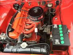 The Slant-6 is a Chrysler automobile engine, known within Chrysler as the G-engine. It is an inline-6 piston engine designed such that the cylinders are inclined at a 30-degree angle from vertical.