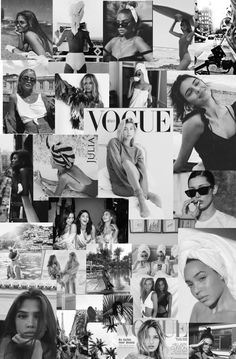 black and white aesthetic wall collage Vogue Wallpaper, Fashion Wallpaper, Mode Collage, Aesthetic Collage, Collage Collage, Black And White Photo Wall, Black And White Wallpaper, Black And White Background, Collage Background