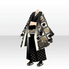 昔懐かし 休日散歩 ガチャ@セルフィ「レトロ倶楽部」登場! Anime Outfits, Boy Outfits, Cocoppa Play, Drawing Clothes, Yukata, Character Outfits, Kimono Fashion, Costume Design, Fashion Design