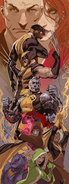 X-Men by Stjepan Sejic (Marvel comics) Marvel Comics, Heros Comics, Comics Anime, Comic Manga, Bd Comics, Marvel Heroes, Manga Anime, Captain Marvel, Comic Book Characters