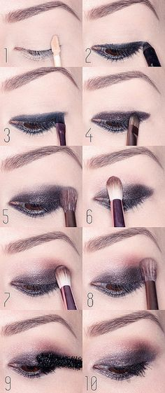 Smokey, rosy eye tutorial with Naked 3 from urban decay
