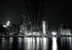 Under the Ed Koch Queensboro Bridge. Midtown. New York City