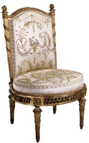 Marie-Antoinette chair from the Petit-Trianon