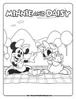 mickey mouse coloring pages minnie mouse daisy duck coloring sheets