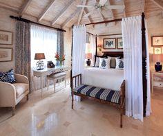 Beautiful tropical bedroom