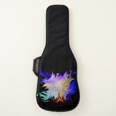 Woman with Horse Guitar Case - horse animal horses riding freedom