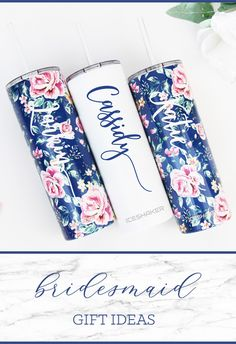 Bridesmaid Gift for your Bridesmaid asking gift boxes! Present these adorable personalized tumbler cups to Your girls when you ask them to stand next to you on your big day! Perfect for the Bachelorette trip and everyday thereafter! Gifts For Wedding Party, Party Gifts, Wedding Favors, Our Wedding, Dream Wedding, Wedding Ideas, Asking Bridesmaids, Bridesmaids And Groomsmen, Bridesmaid Proposal