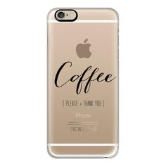 iPhone 6 Plus/6/5/5s/5c Case - COFFEE. Please + Thank You. ($40) ❤ liked on Polyvore featuring accessories, tech accessories, phone cases, electronics, iphone, phone, iphone case, apple iphone cases ve iphone cover case