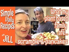 What My Plant based Family Ate for Dinner-Tofu Scramble Breakfast