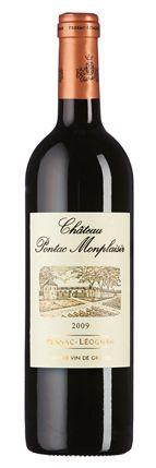 Château Pontac Monplaisir 2009: Duft aus Kirschen, Nougat und erdiger Würze, komplexer Geschmack aus dunkler Frucht, erdigen Noten und geschmeidigen Gerbstoffen. Delikater Abgang.