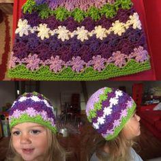 Návod: Kytičková čepice   Pilgrim Crochet Hats, Beanie, Fashion, Knitting Hats, Moda, Fashion Styles, Beanies, Fashion Illustrations, Beret