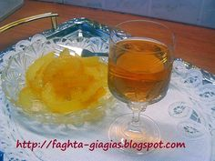 Τα φαγητά της γιαγιάς: Λικέρ περγαμόντο Greek Sweets, Greek Desserts, Greek Recipes, Fruit Preserves, Confectionery, Soul Food, Food To Make, Food And Drink, Cooking Recipes
