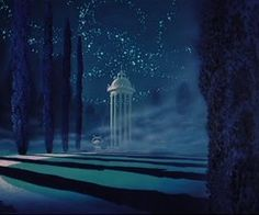 Prince Charming's castle gardens ~ Cinderella