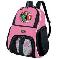 Girls World Cup Fan Soccer Backpack or Womens World Soccer Volleyball Bag  Women Volleyball 34eb421e30f8e