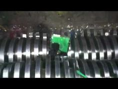 View from inside our Ulster Shredder @ www.electronic-recycling.ie