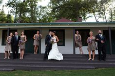 Wedding Party Photo - PHOTO SOURCE • KATE CRABTREE PHOTOGRAPHY