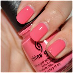 China Glaze Sugar High / I used this as my wedding day nail polish!  http://media-cache7.pinterest.com/upload/58898707596195987_HB2l6U4J_f.jpg https://www.tradze.com/gift-cardwondrfullyweird Tradze.com beauty junk