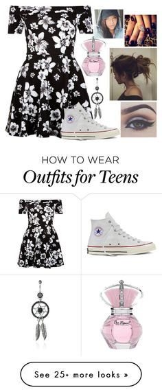 """My Style 3"" by loubear223 on Polyvore featuring New Look, Converse and Bellezza"