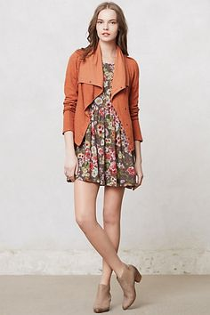 Tavi Moto Jacket $88 Anthropologie.  LOVE IT.  But I would probably wear it with skinny jeans and a white top. #anthropologie