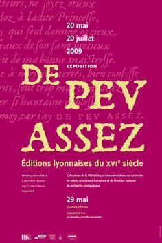 """Affiche de l'exposition """"de peu assez""""  format A3  graphiste: Olivier Umecker"""