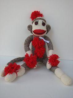 NCAA Unisex 2013 Sock Monkey Ornament Décor Ornaments