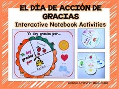 Thanksgiving Activities in Spanish {Interactive Notebook} (scheduled via http://www.tailwindapp.com?utm_source=pinterest&utm_medium=twpin&utm_content=post19584332&utm_campaign=scheduler_attribution)