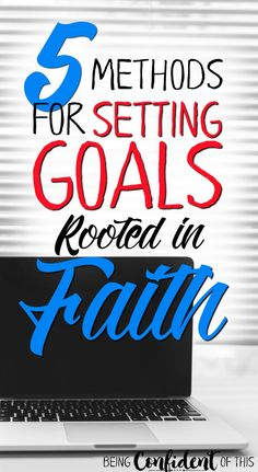 Because New Year's is right around the corner and resolutions so often fail to stick. Why not try a biblical approach to setting goals instead? These 5 methods will set you on the path to success that lasts!