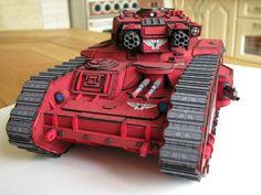 [warhammer 40k] macharius vulcan - DePapercraftBlog