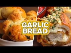 5 Recipes For Garlic Bread Lovers - YouTube
