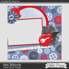 FREE Hot Wheels Quick Page 2 Freebie By Deanna from Connie Prince