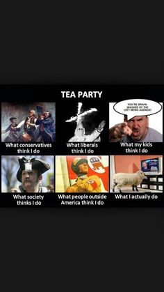 With the Tea Party movement continuing to grow it's time to figure out what they do   Damage to America!