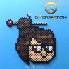 Mei - Overwatch perler beads by lootingbroad