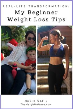 ba0a7d607703d Awesome transformation success story! Before and after fitness motivation  and beginner tips from women who