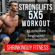 The 5x5 Stronglifts routine comes from Mehdi at the Stronglifts.com web site. It's a deceptively simple yet effective strength workout that takes only 45 minutes, three times a week. Yet it guarantees total body strength improvement if you follow it precisely and use good form. In this post, I'll summarize the workout and my experience with it, and point you in the right direction to look into it yourself.