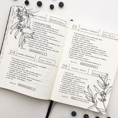 "Polubienia: 1,917, komentarze: 32 – Federica (@feebujo) na Instagramie: ""These days on my Bullet Journal This time I decorated my layout with some berries! For the next…"""