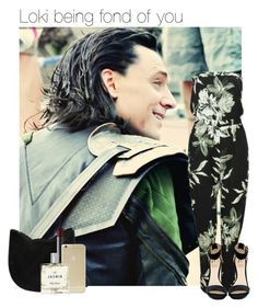 """Loki being fond of you"" by thatweirdgirlkris ❤ liked on Polyvore featuring Rihanna For River Island, Forever 21, NARS Cosmetics, Sonix, Miller Harris, imagine, Avengers, preference and Loki"