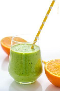 zelené smoothie Smoothie Detox, Smoothie Bowl, Smoothie Recipes, Smoothies, Diet Recipes, Thing 1, Fruit Juice, Quiche, Watermelon