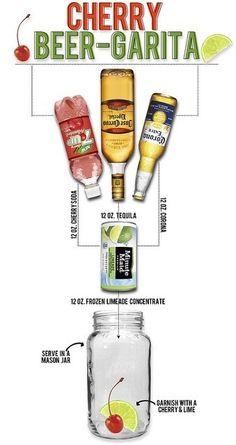Cherry Beer-Garita